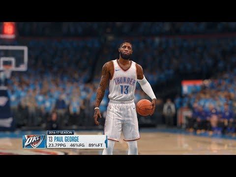 NBA LIVE 18 - Oklahoma City Thunder vs Golden State Warriors | (FULL MATCH) (1080p 60fps)