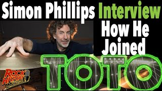 How Simon Phillips Joined Toto After Jeff Porcaro Died in 1992