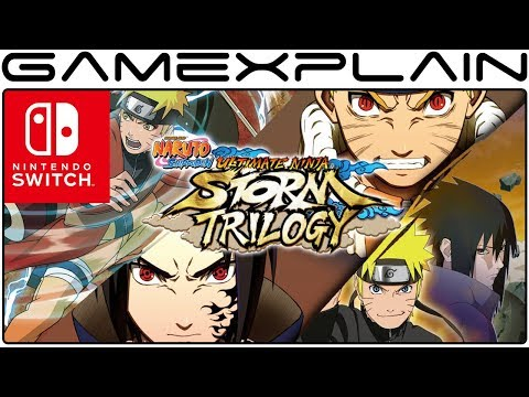 Naruto Shippuden: Ultimate Ninja Storm Trilogy Announced for Nintendo Switch