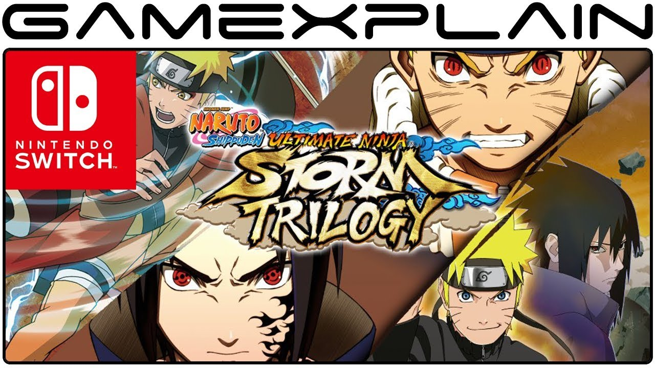 Naruto Shippuden: Ultimate Ninja Storm Trilogy Announced for