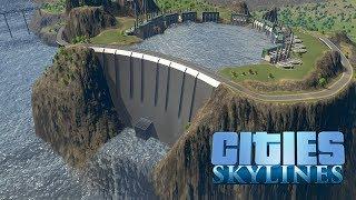 Cities Skylines - ГЭС работающая от канализационных вод! #33
