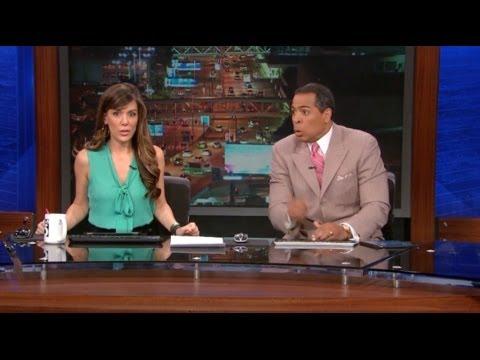 KTLA & Fox 5 Earthquake Live on TV 3/17/2014