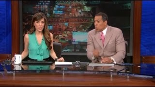 KTLA & Fox 5 Earthquake Live on TV 3/17/2014