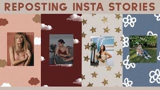 8 Creative Ways to Repost Instagram Stories! ♡