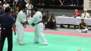 All American Open 2015 Kyokushin Karate Final Oleksandr Ieremenko vs Ilya Karpenko 2