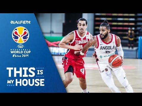 Angola v Tunisia - Full Game - FIBA Basketball World Cup 2019 - African Qualifiers