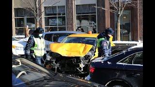 Фото Массовое ДТП в центре Москвы с двумя пострадавшими