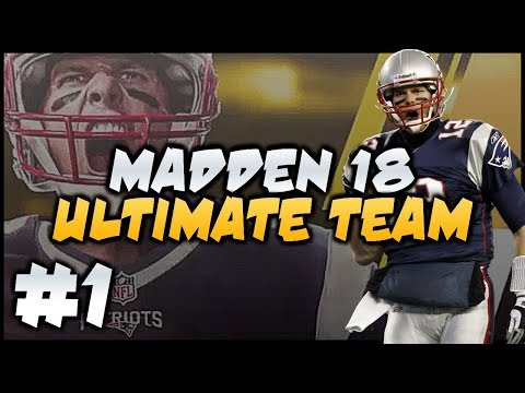 PS4 MUT 18 BREAKDOWN! MADDEN 18 ULTIMATE TEAM EP.  1!