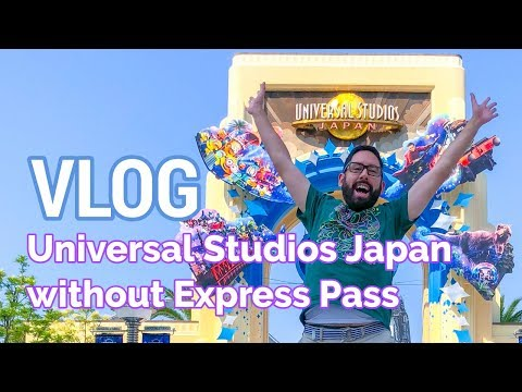 VLOG: Not Using Express Pass at Universal Studios Japan | OSAKA TRAVEL GUIDE
