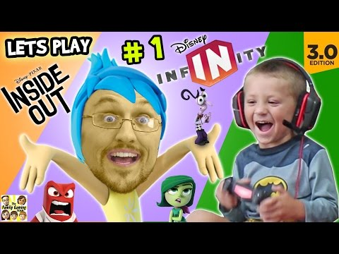 Lets Play DISNEY INFINITY 3.0 INSIDE OUT #1: Into the Mind's I (FGTEEV Duddy & Chase Gameplay)