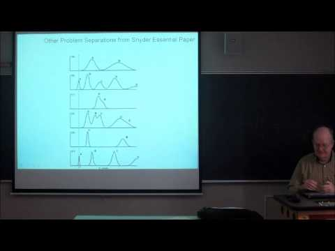 Lecture 6 - Analytical Chemistry and Chromatography for Graduate Students -  Professor Peter Carr