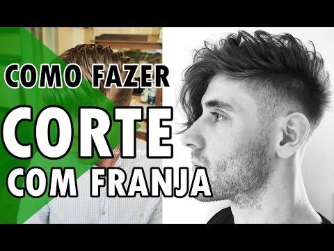 🔵 CORTE DE CABELO MASCULINO COM FRANJA | HAIRSTYLE FOR MEN