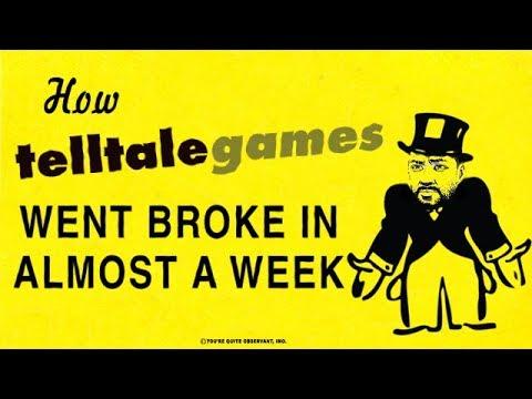 How Telltale Went Broke