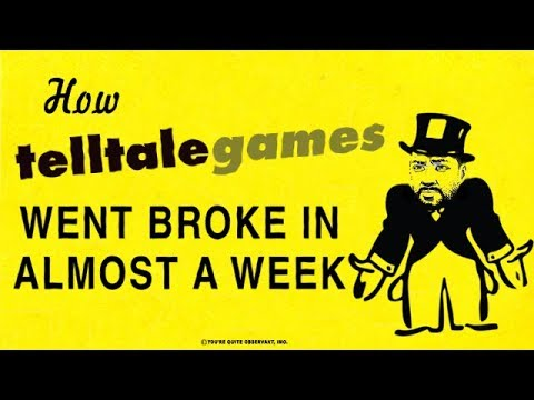 How Telltale Went Broke [SuperBunnyHop]