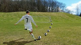 ultimate football free kick challenge the best soccer free kicks