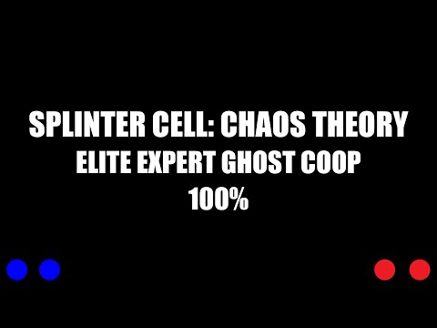 Splinter Cell 3: Chaos Theory Coop: Training (100% | Expert