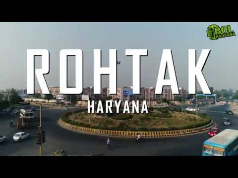 Drone Shots of ROHTAK City | Bol Haryana