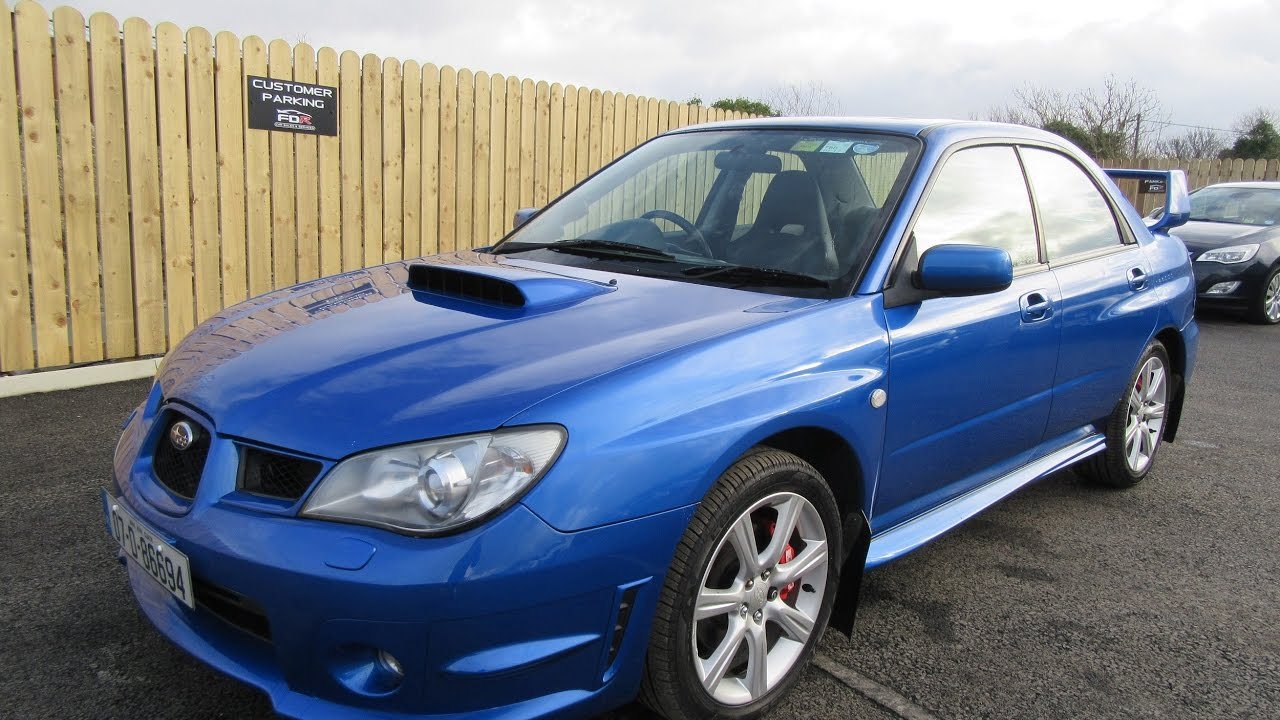 Review Amp Test Drive 2007 Subaru Impreza Wrx 2 5 Youtube
