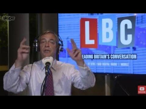 The Nigel Farage Show: The EU's Response to Catalonia. Live LBC - third October 2017