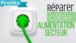 comment réparer fil électrique sectionné
