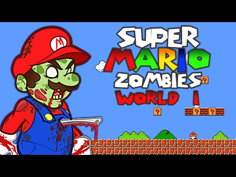 SUPER MARIO ZOMBIE MAP: WORLD 1 (Call of Duty: Zombies)