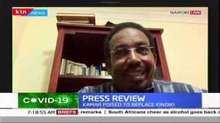 Former National Assembly Deputy Speaker Farah Maalim gives his view on Jubilee purge (Part 1)