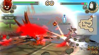 Naruto Shippuden Ultimate Ninja Impact Walkthrough Part 12 4 Tailed Kyuubi vs Orochimaru (60 FPS)