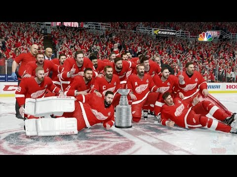 NHL 18 - Detroit Red Wings Stanley Cup Celebration