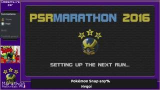 Pokémon Speedruns Marathon #2 : Pokémon Snap