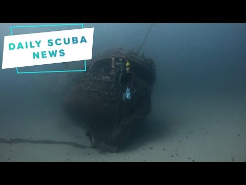 Daily Scuba News – Scuba Divers Find Ghost Ship