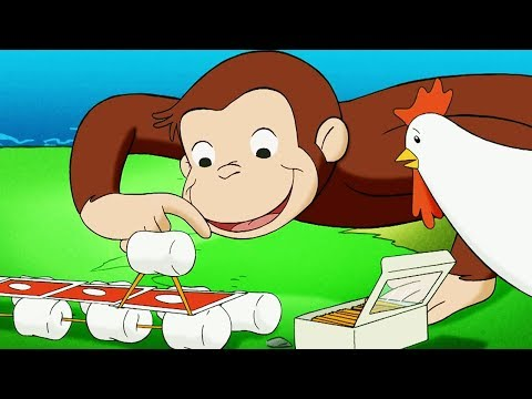 Curious George 🐵A Bridge Too Farm 🐵Kids Cartoon 🐵Kids Movies 🐵Videos for Kids
