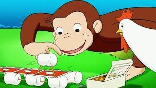 Curious George 🐵A Bridge Too Farm 🐵Kids Cartoon 🐵Kids Movies 🐵Videos for Kids