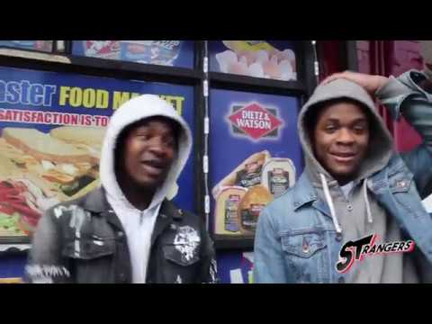 Young Rappers (D4M) Freestyle in West Philly