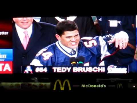 Teddy Bruschi Honor night speech - Patriots vs Jets 12/6/2010