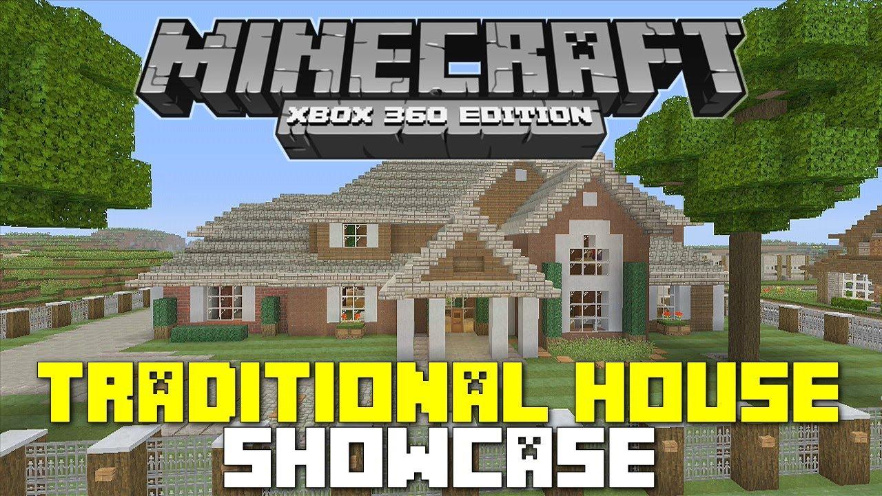 Minecraft Xbox 360: Traditional House Tour! w ... - photo#18