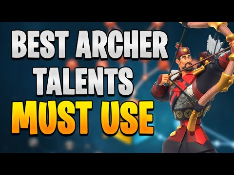 Best YSG Talent + Archer Guide in RoK [ Latent Power ] | Rise of Kingdoms