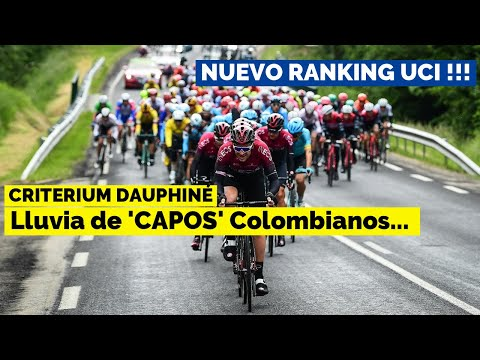 Noticias Ciclismo - Colombianos, Daupinhé, Ranking UCI...