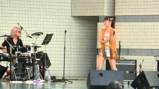 2015/9/13 代々木公園で開催されたONE ASIA 2015での時東ぁみのライブ s...