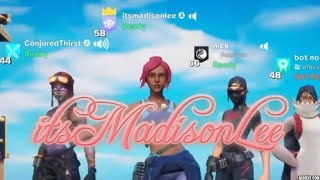 LIVE - Fortnite Gamer Girl: itsMadisonLee