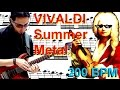 Vivaldi Summer 200bpm On Guitar TAB DOWNLOADS By David Thomazone mp3