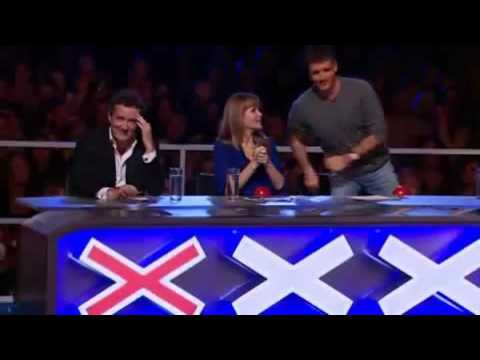 Piers upsets a girl on Britain's Got Talent