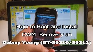 How to Root and Install CWM Recovery on Galaxy Young (GT-S6310/GT-S6312)