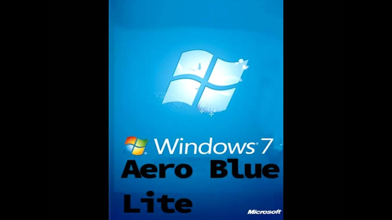 Windows aero blue
