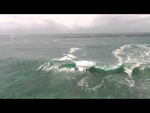 Big Surf at Dee Why Point, Sydney  2016 - Filmed with DJI Phantom 3 Professional
