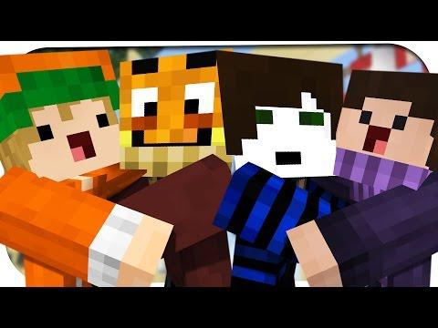 MINECRAFT BEDWARS MIT 4 YOUTUBERN! ☆ Minecraft: Bedwars