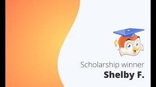 December 2017 Winner - $1,000 You Deserve It Scholarship Award
