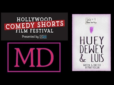 Hollywood Comedy Shorts Film Festival Red Carpet interview - Huey, Duey & Luis