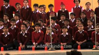 Shri Ram School performs the Cup Song