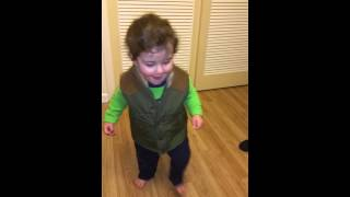 1-Year-Old Rockin' Out to AWOLNATION's new song 'Hollow Moon (Bad Wolf)'