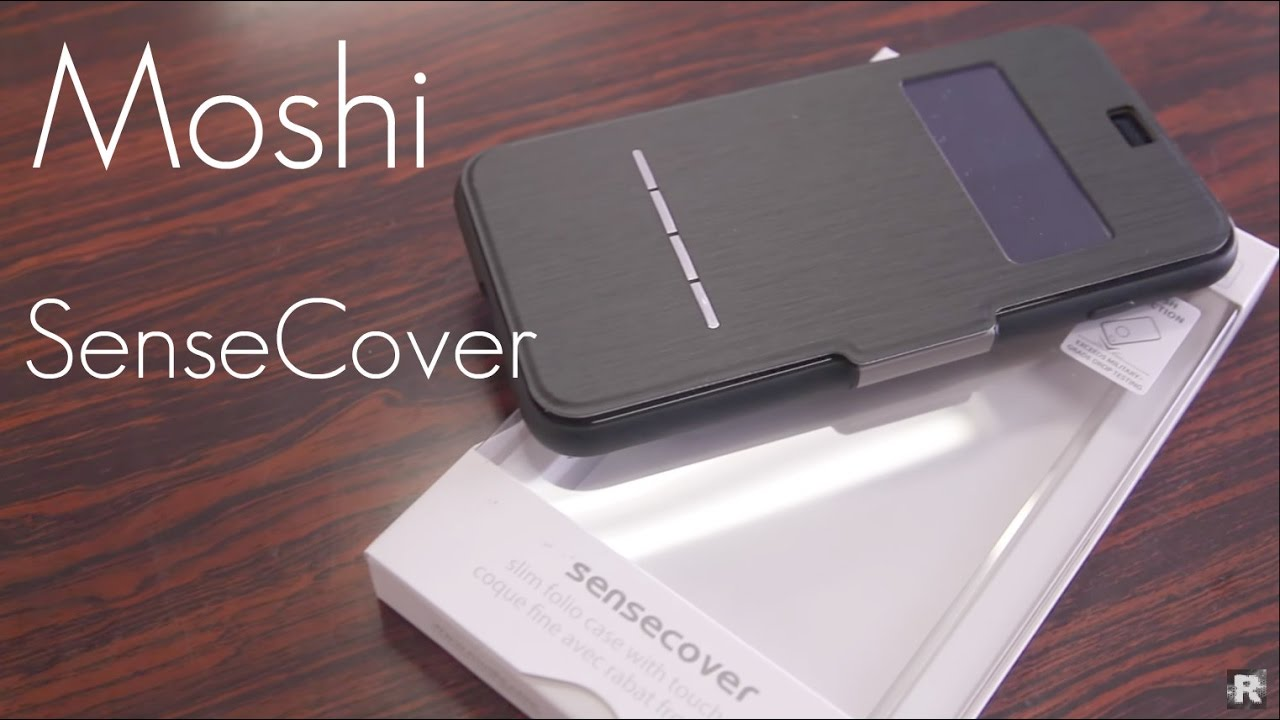 wholesale dealer 197e6 850b0 The Most Functional Folio Case EVER? - Moshi Sense Cover - iPhone 7 & 7  PLUS - Review / Demo